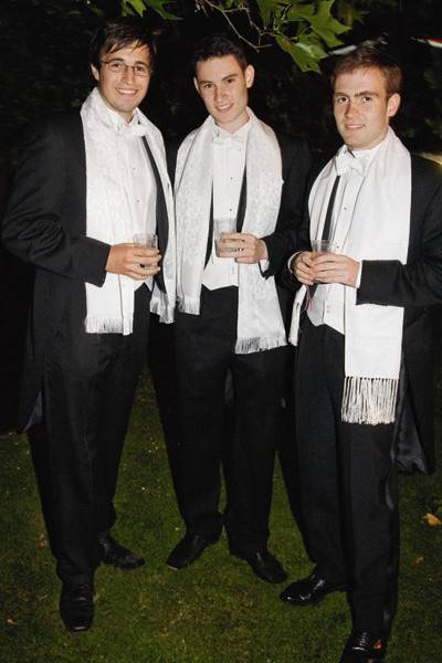 Daryl Skinner, Nick Oldham and James Gill