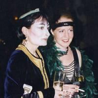 Mrs Christopher Martin and Victoria Hanbury-Williams