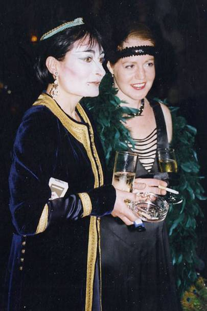 Mrs Christopher Martin and Victoria Hanbury-Williams