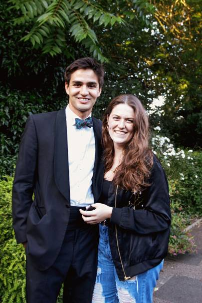 Ben Stevens and Imogen Moore