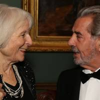 Viscountess Norwich and Count Macchi di Cellere