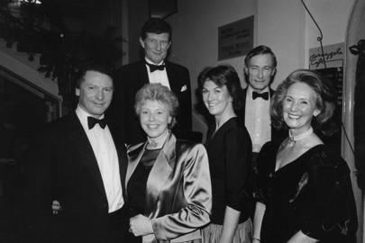 Paul Nix, Mrs Paul Nix, William Griffith, Mrs Richard Fallowfield, Richard Fallowfield and Mrs Richard Hobson