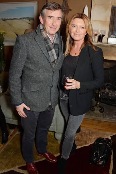 Steve Coogan and Tina Hobley