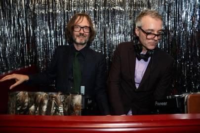 Jarvis Cocker and Steve Mackey