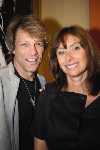 Jon Bon Jovi and Anita Zabludowicz