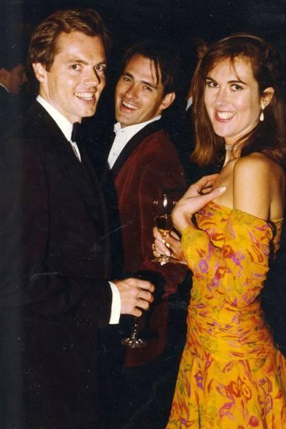 Ivan Lindsay, Rupert Bevan and Sophie Learmond