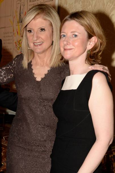 Arianna Huffington and Frances Osborne