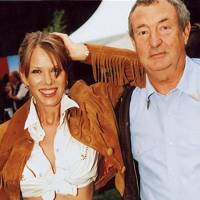Mrs Nick Mason and Nick Mason