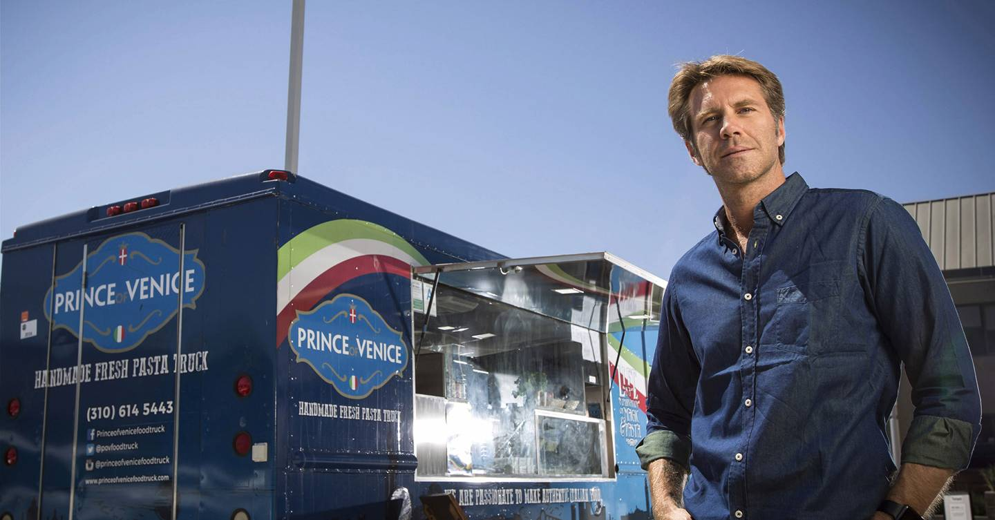 Italy's last Prince and his pasta street food van