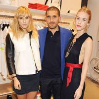 Suki Waterhouse, Felipe Oliveira and Mary Charteris
