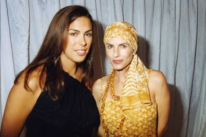 Jessica de Rothschild and Mrs Emilio de Ocampo