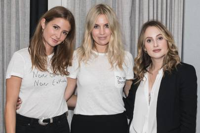 Millie Mackintosh, Marissa Montgomery and Rosie Fortescue