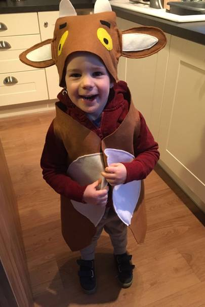 Fred Pilkington as the Gruffalo