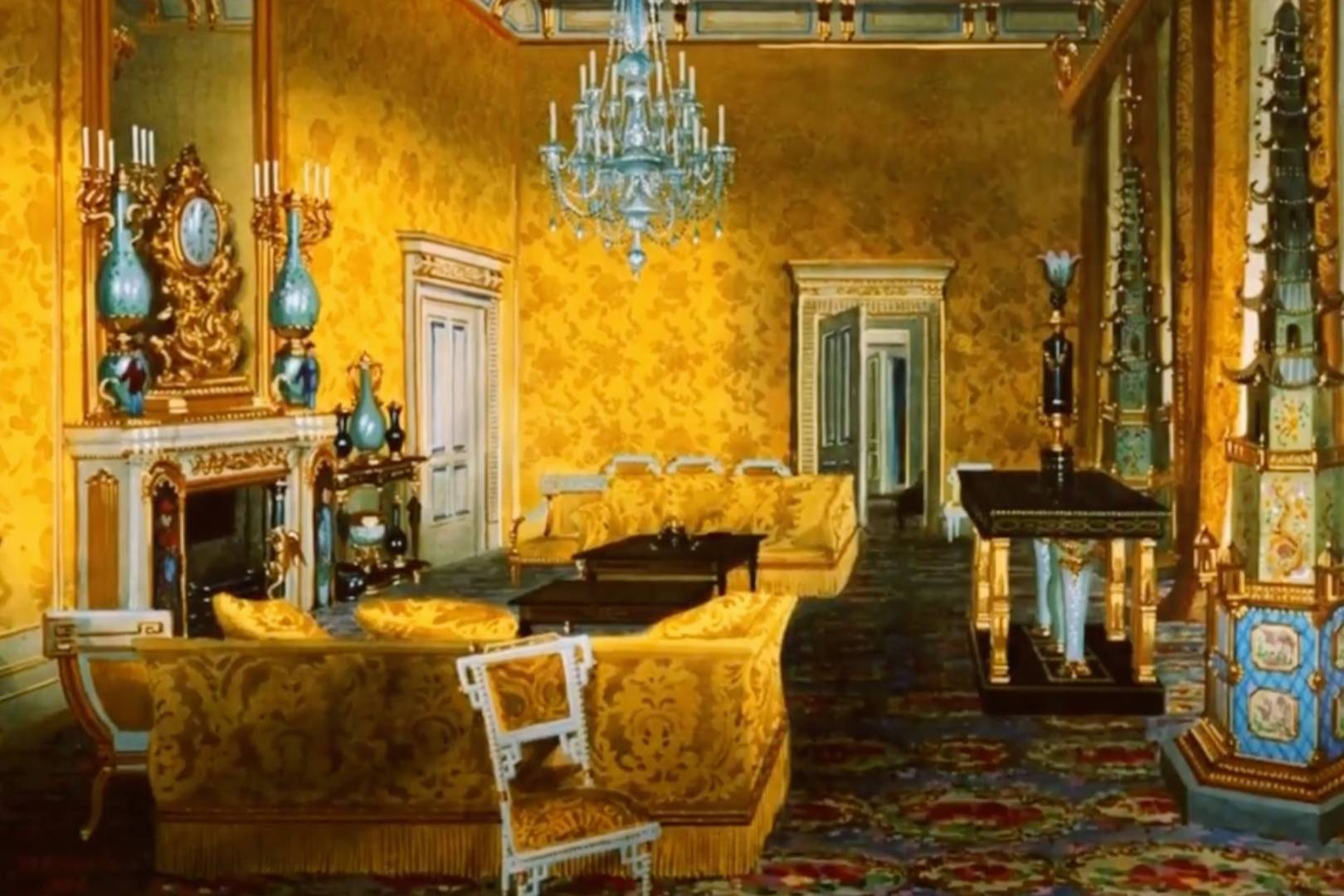 Inside Buckingham Palace S 369 Million Renovation Including