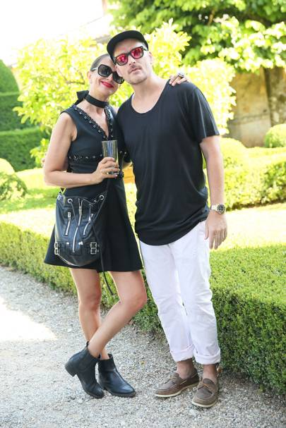 Rushka Bergman and Balthazar Getty