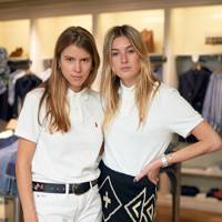 Monica Ainley and Camille Charriere