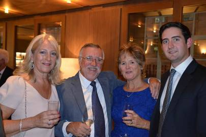 Pam Crane, Chris Dingley, Pam Dingley and Charles Crane