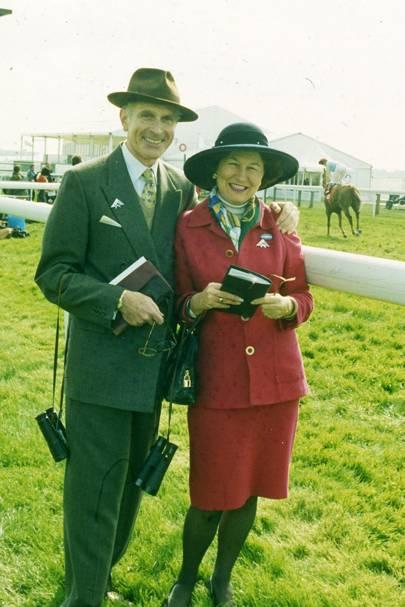 The Hon David Sieff and Mrs David Sieff