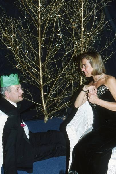Jocelyn Crocker and Mrs David Walker