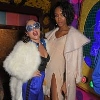 Jaime Winstone and Jourdan Dunn