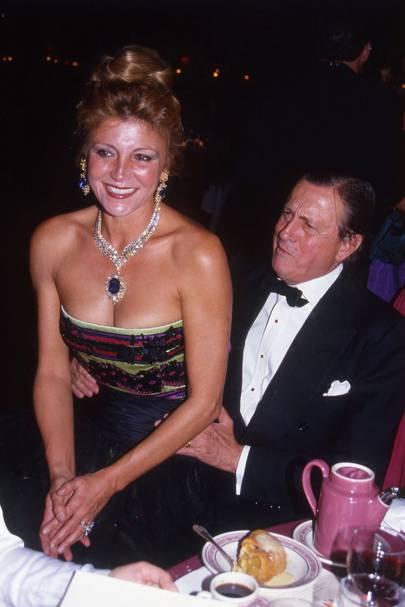 Baroness Thyssen-Bornemisza and Baron Thyssen-Bornemisza