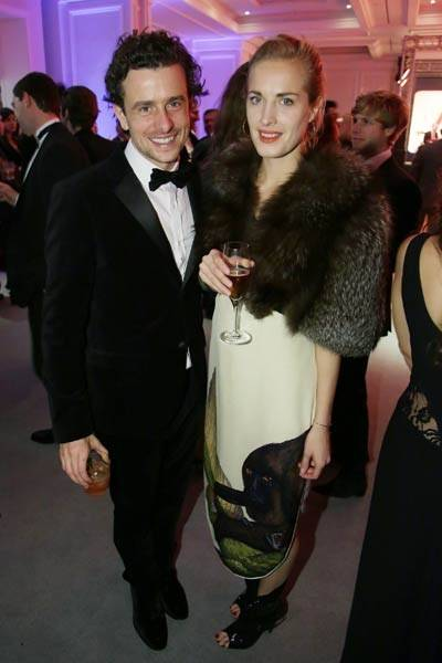 Hamish Jenkinson and Polly Morgan