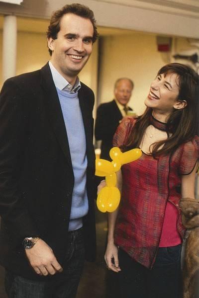 Fritz von Westenholz and Caroline Sieber