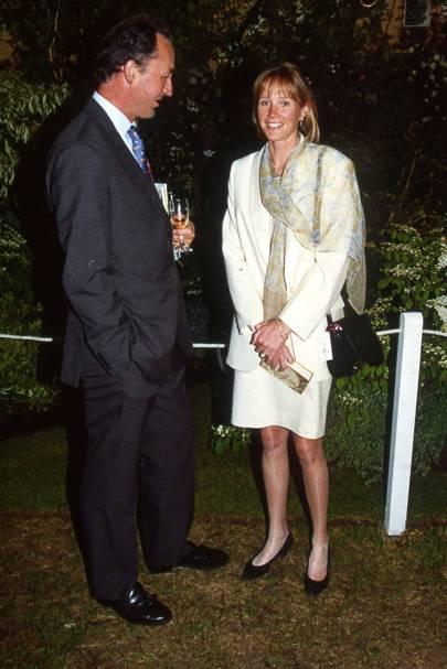 The Duke of Roxburghe and the Duchess of Roxburghe