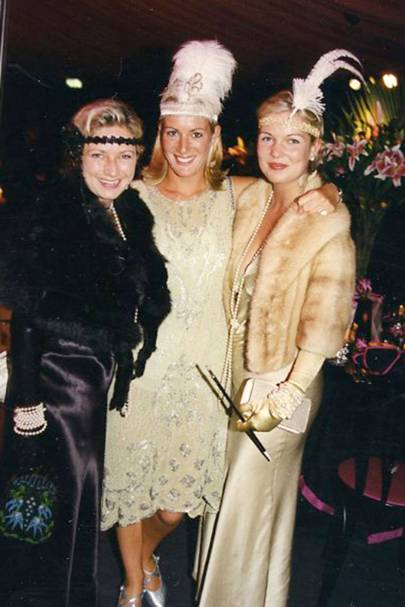 Faith Lindley, Lady Victoria Chetwynd-Talbot and Sarah Gill