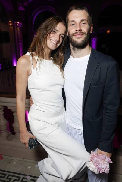 Joanna Preiss and Simon Porte Jacquemus