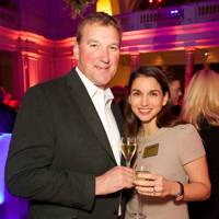 Matthew Pinsent and Demetra Pinsent