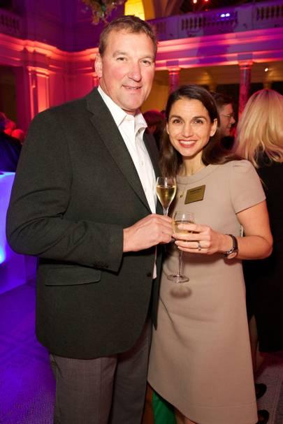 Matthew Pinsent and Demetra Pinsent