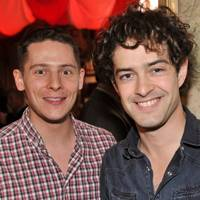 Chris Parker and Lee Mead