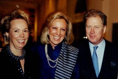 Baroness Bentinck van Schoonheten, Maureen van der Wyck and Baron WO Bentinck van Schoonheten