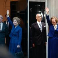 Gillian Anderson as Margaret Thatcher