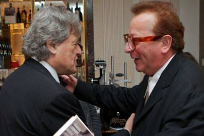 Sir Tom Stoppard and Lord Saatchi