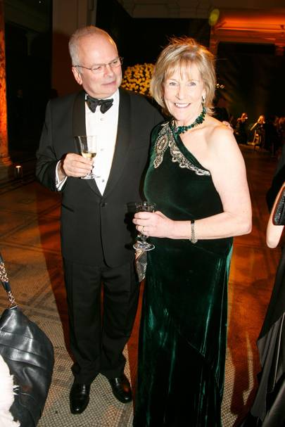 Geoffrey Munn and Lady Tollemache
