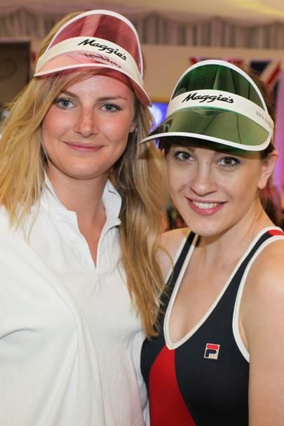 Emma Winslade and Rosa Yolanda McNeil