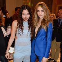 Eliza Doolittle and Cara Delevingne