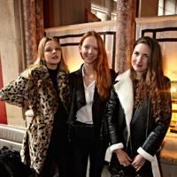 Greta Bellamacina, Elizabeth Sankey and Morwenna Lytton Cobbold