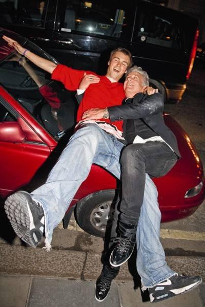 Nick Palmer and Nicky Haslam