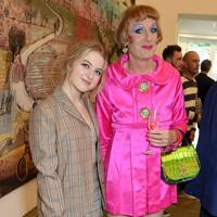 Anaïs Gallagher and Grayson Perry