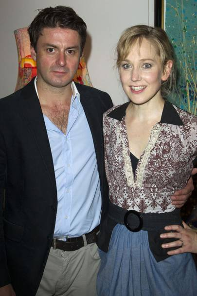 Dominic Rowan and Hattie Morahan