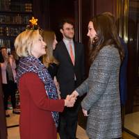 Hillary Clinton and the Duchess of Cambridge