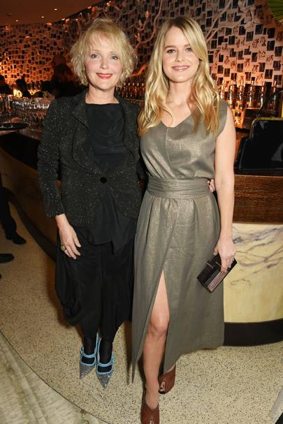 Miranda Richardson and Alice Eve