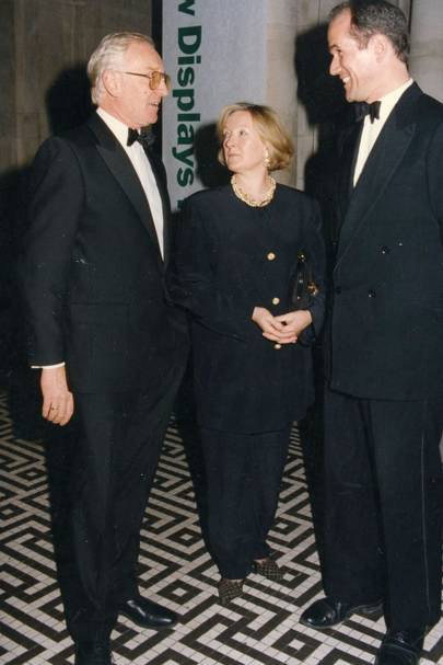 John Mellon, Mrs John Mellon and Sandy Nairne