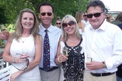 Angela Tresise, Nick Gardner, Kryssie Smith and Martin Smith