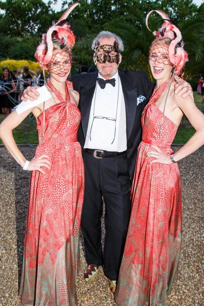 Mary Powys, Mark Shand and Ruth Powys