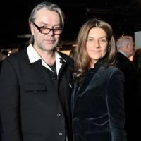 David Downton and Natalie Massenet
