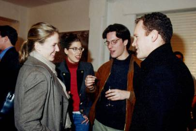 Sasha Schwarzenbach, Countess Luca Marenzi, Philipp von Schulthess and Lord Wrottesley